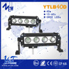 motorcycle parts 24v 10 inch single row led bar ip68 with factory cheap price