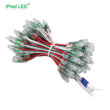 12mm WS2811 f8 rgb led pixel module,waterproof DC5V full color RGB string christmas LED light Addressable Pixel Led