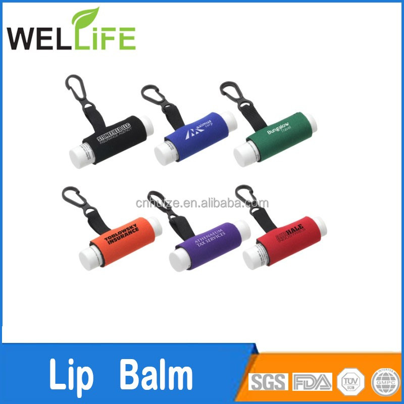 Ningbo factory wholesales flavored fruit moisture SPF15 chapstick lip balm