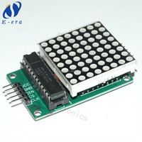 Made in china MAX7219 chip control dot matrix led display module for sale
