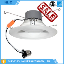 good price dimmable waterproof ip44 8w 10w 12w 18w 6 inch smd recessed led light downlight