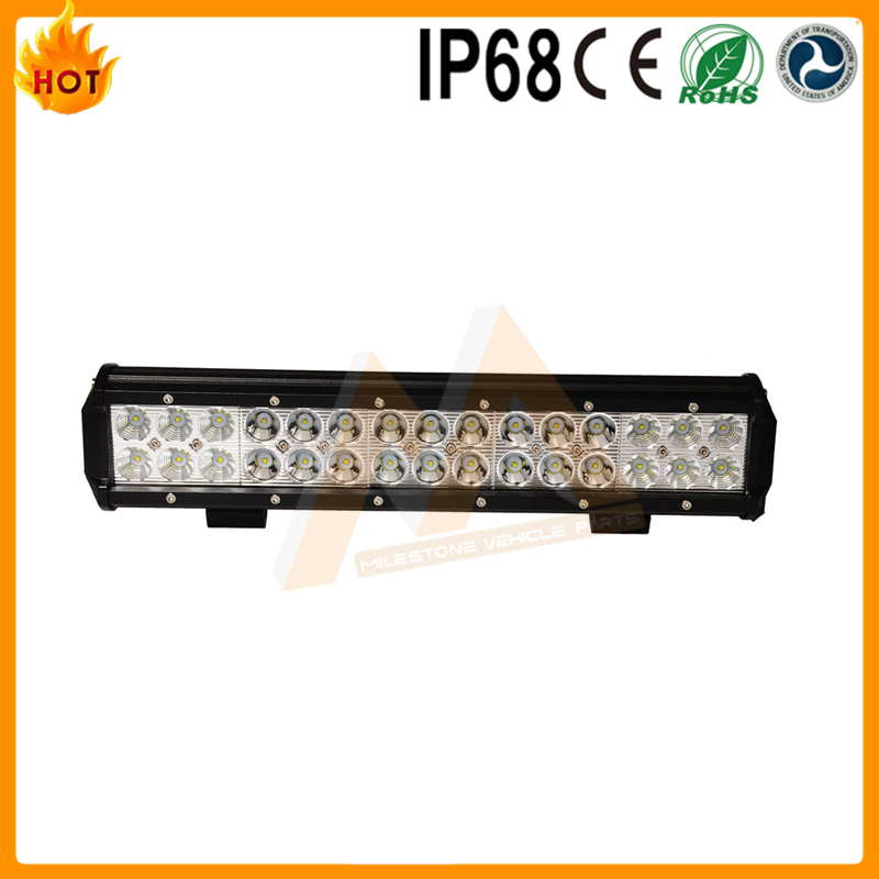 Guangzhou car accessories Super Bright Led Light bar 90W 30led 14.5Inch auto light bar atv 4x4