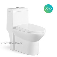 chao zhou UPC ceramic siphonic One Piece S-trap toilets z918