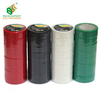 2017 new Single sided pvc insulation tape custom Multi-color electrical tape