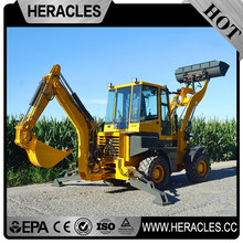 Heracles hot sale hydraulic auger for excavator backhoe loader tire