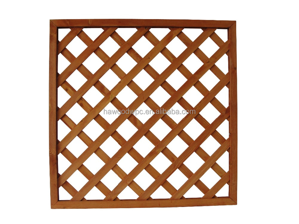 Cheap High Quality Wood Lattice Fence Panel