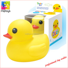 Big size squeeze floating rubber yellow duck for sale