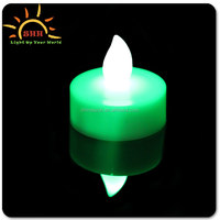 2016 New store RGB led flickering candle flame round shape candles for sale