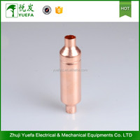 Profession supply all kinds sanitary filter drier with access valve
