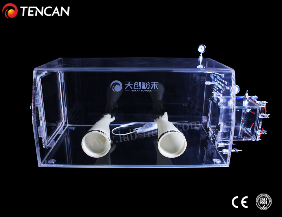 China Tencan fully transparent cheap price acrylic glovebox