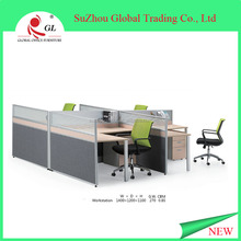 2015 China high end 4 seat office workstation cubicle