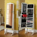 Dressing Jewelry Mirror Cabinet with wood