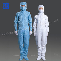 Wholesale Good Quality Cleanroom Dust-proof Antistatic Coverall