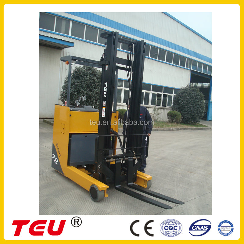 HIGH QUALITY 1.8 TON BATTERY REACH FORKLIFT GS BATTERY 48V/280AH