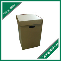 Single Wall Corrugated Carton Box For Shipping And Archiving