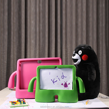 Cartoon design antishock protective child stand shockproof explosion proof case for ipad 234