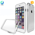 PC Hard Back Soft TPU Frame Phone Case For 7 Plus Crystal Transparent Back Cover