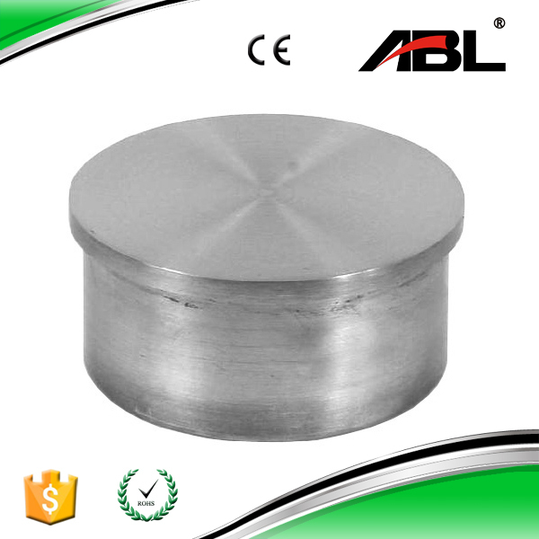 Inch mm stainless steel end cap for handrail view