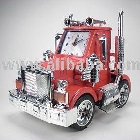 Truck alarm clock with real Engine and Horn Sound