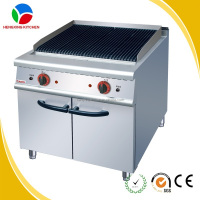 Professional Commercial Electric Radiant BBQ Grill With Cabinet For Sale