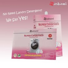 Washami Deap Cleaning Laundry Detergent Sheets New Detergent Powder