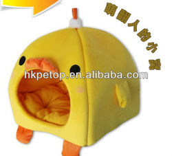 Yellow Duck Folding Dog House Bed
