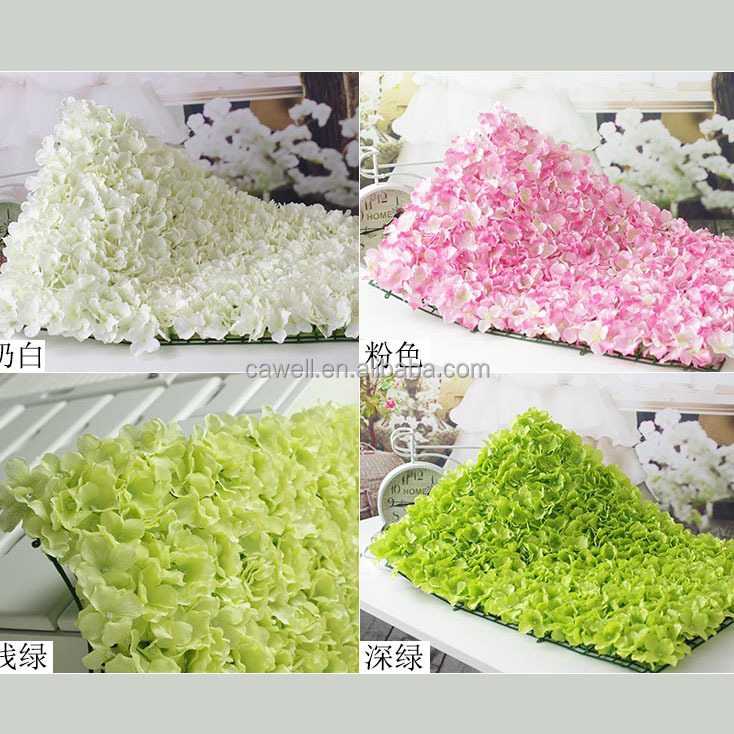 Wedding decoration backdrop silk artificial flower wall for Artificial flowers for wedding decoration