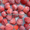 IQF frozen strawberry fruits