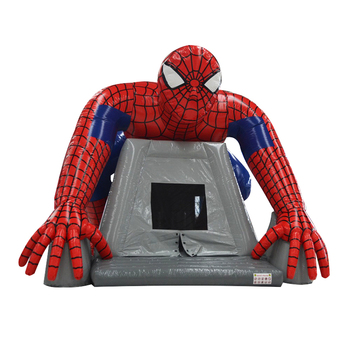 Superhero Inflatable Bouncy Castle, Spiderman Inflatable Bounce House