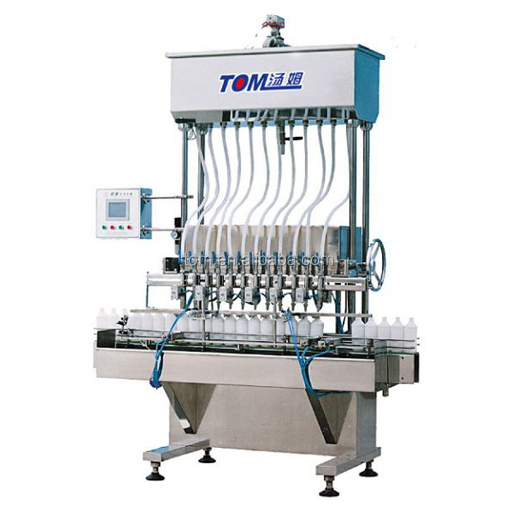 Low energy consumption large capacity automatic body spray can filling machine