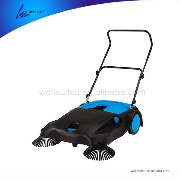 high efficiency manual floor road sweeper