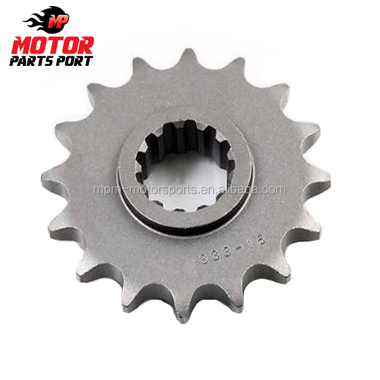 16 tooth motorcycle drive front sprocket for Honda