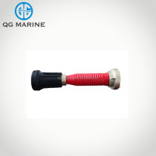 Marine fire fighting branch pipe fire hose nozzle