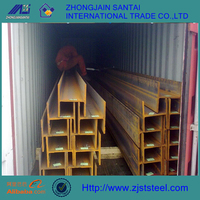 steel structure hot rolled steel beam section i beam h beam