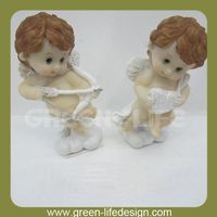 New Arrival Western Angel Figurine Top Sale Cupid Resin Angel figurine for Decoration