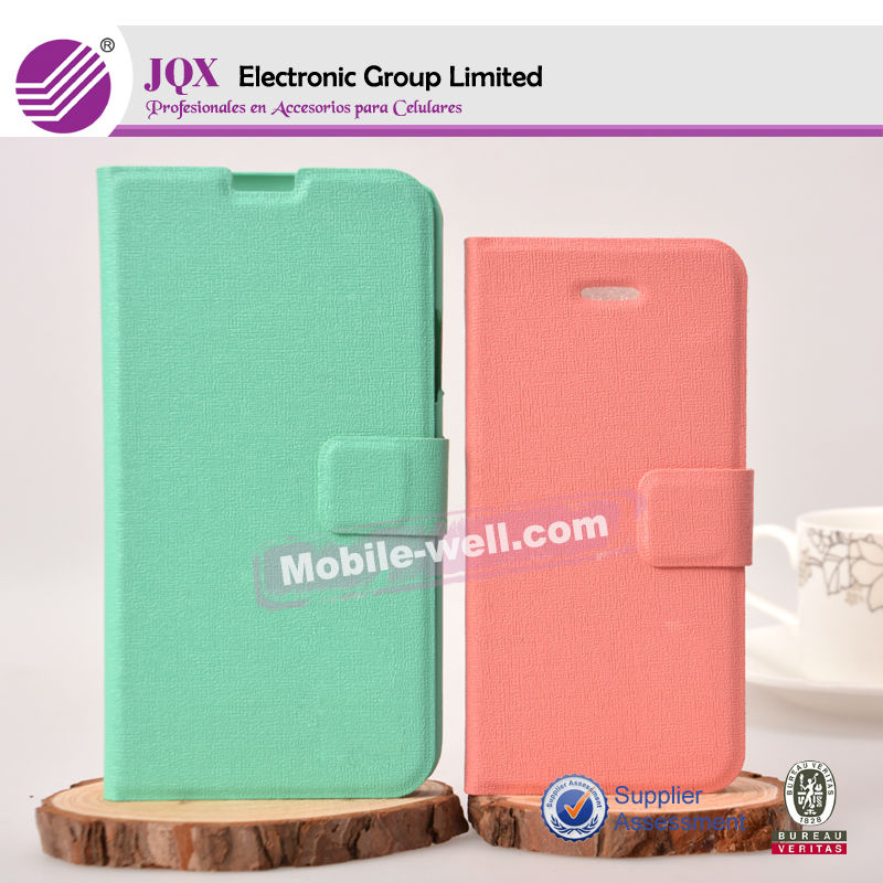 2014 Hot sale Universal Wallet Leather Case For Different Brand Mobile Phone