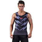 High Quality Fashion Gym Vest Men Compression Workout Sublimation Tank Top