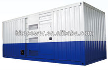 Reliable Operation and Easy Maintainence container soundproof type diesel generator