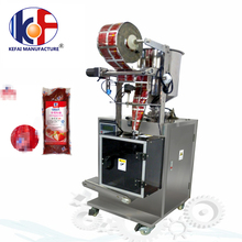 Mini plastic bag 4 sides seal ketchup/food/tomato paste automatic packing machinery supplier