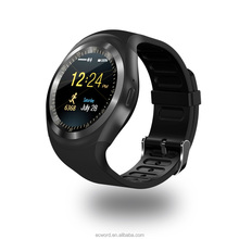 1.54inch IPS Round Screen Bluetooth Smart Watch Phone Y1 Support Nano SIM &TF Card Business Smartwatch For XIAOMI Smartphone