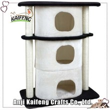OEM Quality-Assured Latest Design Cat Tree With Plush And Sisal Materials
