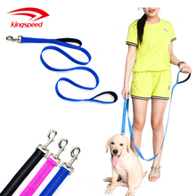 Pet Durable Double Handle Traffic Dog Leash Reflective