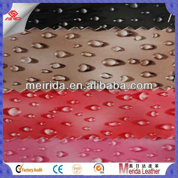 Nonwoven waterproof imitation leather price per meter for wallet