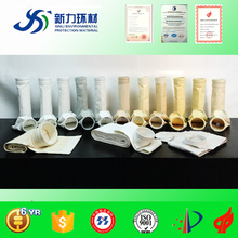 high quanlity nonwoven polyester / pp / aramid / p84 / ptfe / fiberglass industrial bag filters