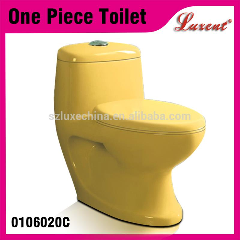 15-year professional oem experience custom size colorful Top button east middle toilet bowl with high quality
