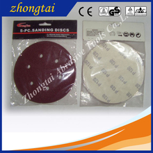 225mm automatic silicon carbide abrasive sand paper disc