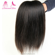 overseas brazilian hair weave straight no shed no tangle black hair extensions