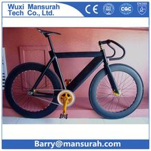 GOMAX fixed gear carbon spoke wheels colorful bikes with color for optional with different material and different sizes