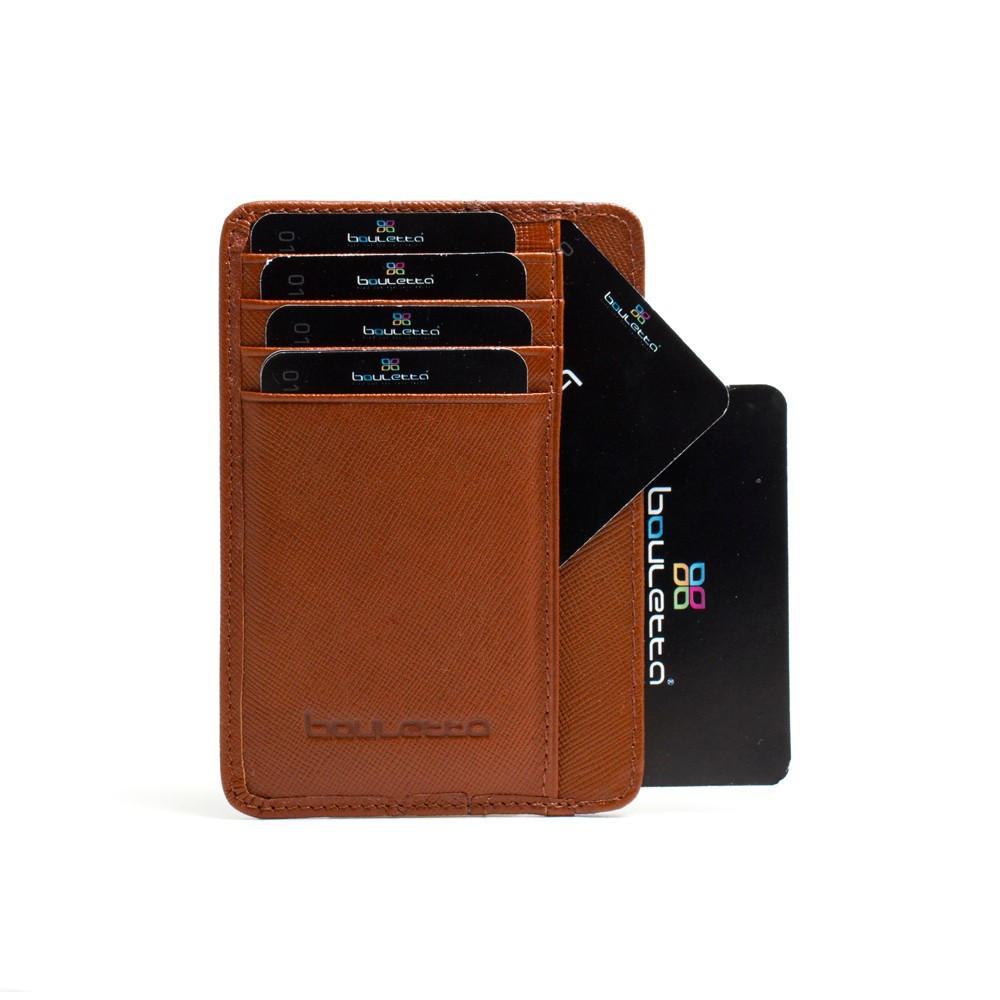 Bouletta BLWL017 Leather Card Holder Brown