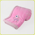 Softtextile Wholesale Knitted Faux Fur Plush Fleece Throw Blanket